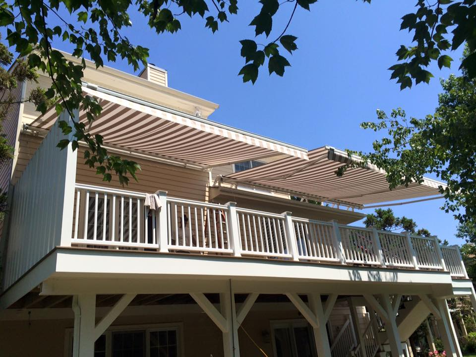 Retractable Awning Gallery Past Jobs From The Awning