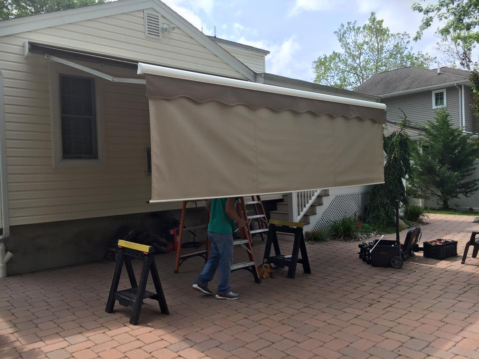 Retractable Awning Systems The Awning Warehouse Ny Awnings Nj Awnings