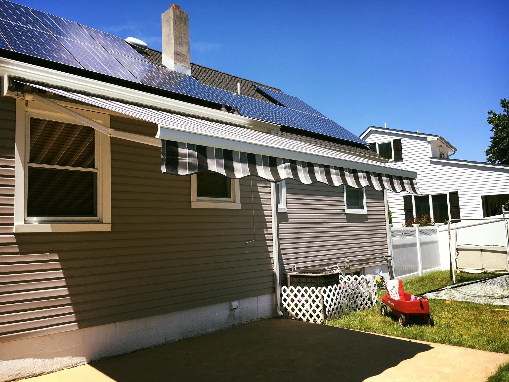 Freehold New Jersey Retractable Awnings The Awning Warehouse Ny Awnings Nj Awnings