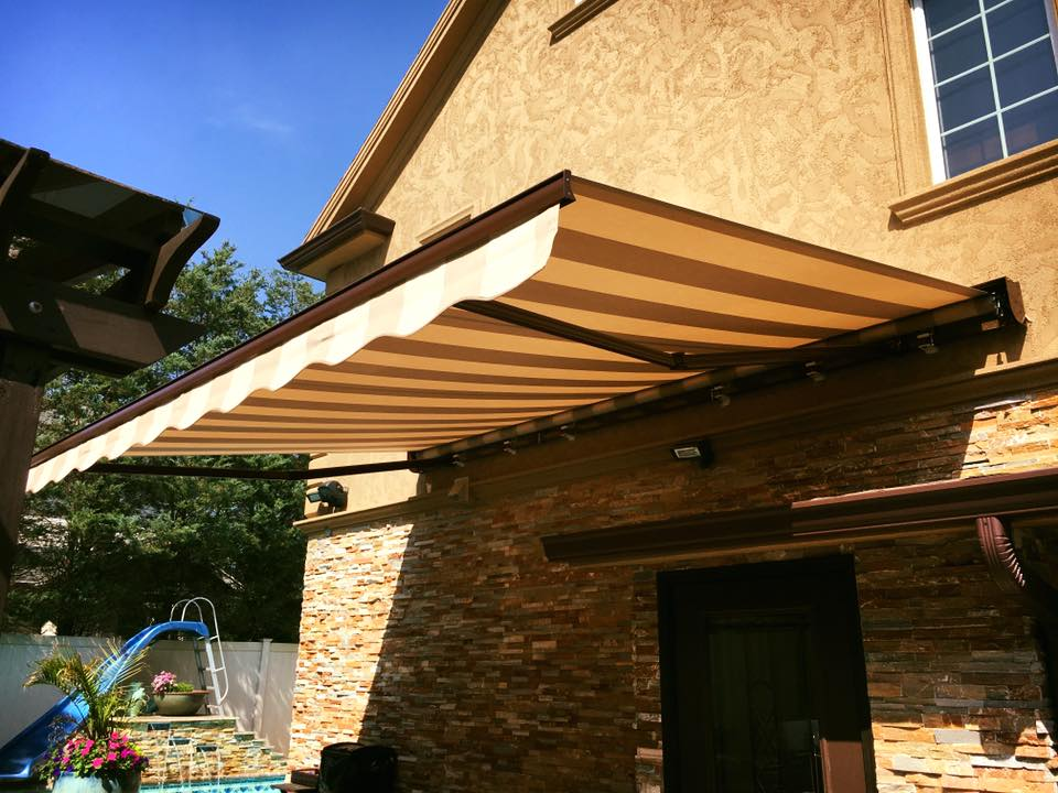 white aluminum awning nj porch residential awnings in