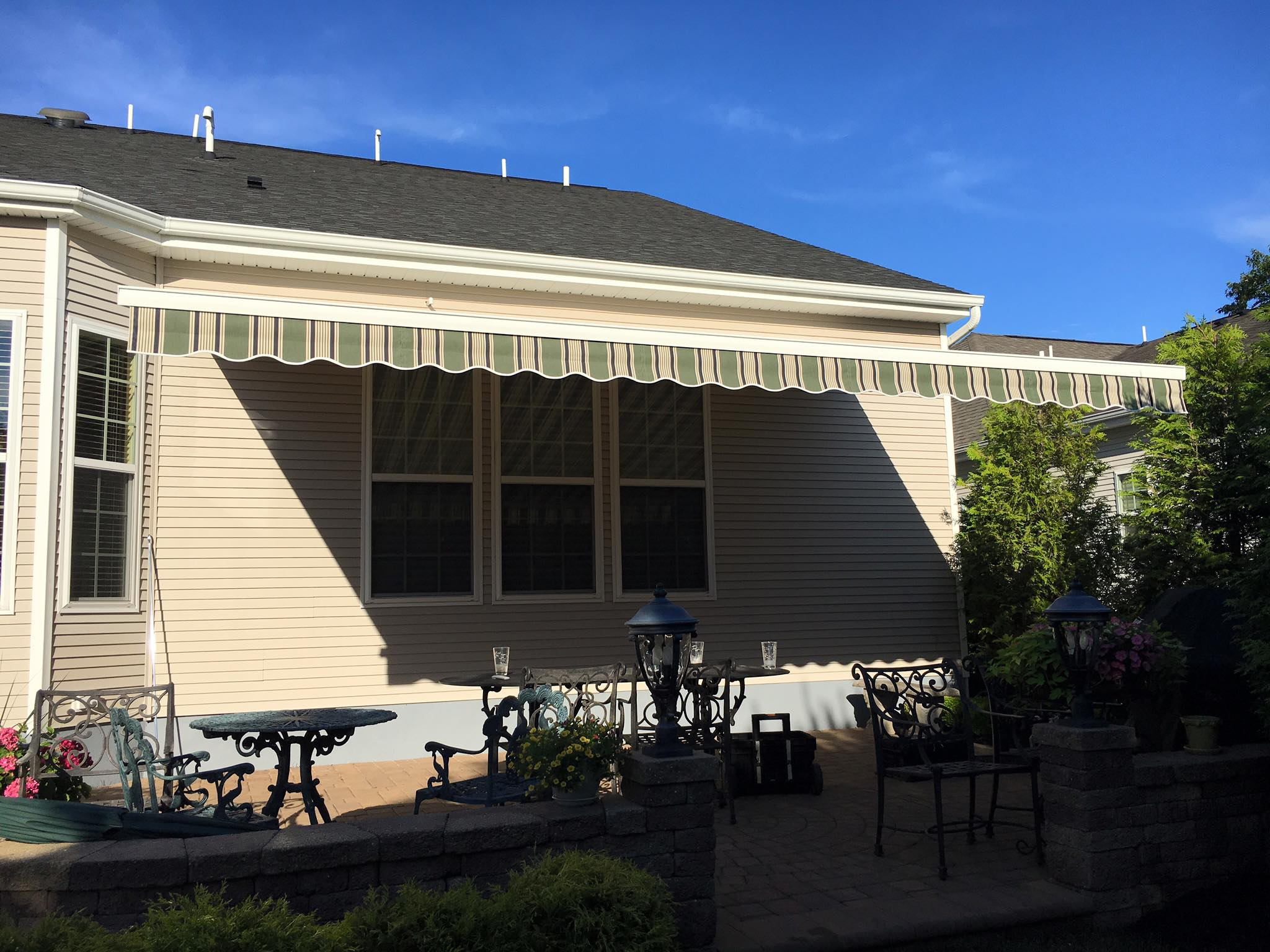 awning retractable awnings in alloworigin eco canopies accesskeyid custom disposition nj