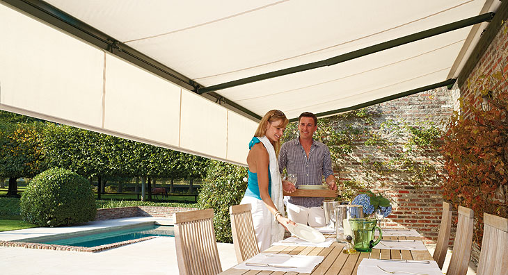 Retractable Deck Awnings Are An Excellent Way To Accent Your Deck Area