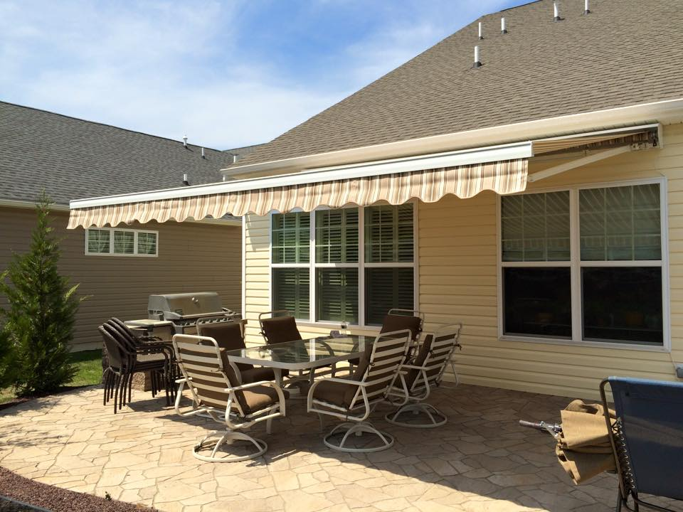 in awning new nj jersey woodbridge retractable o awnings the warehouse